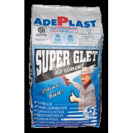 Super Glet de ciment pentru finisaje interioare si exterioare Adeplast SGC 5kg