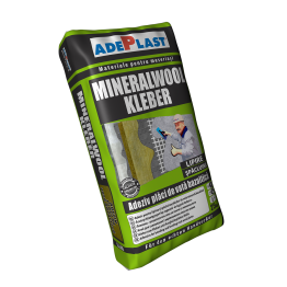 Adeziv pentru vata minerala bazaltica Adeplast Mineralwool Kleber 25kg