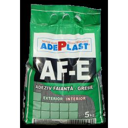 Adeziv gresie faianta exterior Adeplast AF-E gri 5kg