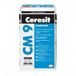 Adeziv gresie si faianta Ceresit CM9 pentru interior 25 kg