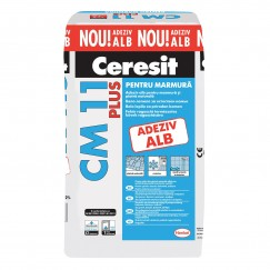 Adeziv marmura si piatra naturala Ceresit CM 11 Plus ALB 25 KG