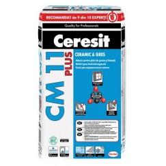 Adeziv gresie faianta Ceresit CM 11 Plus GRI 25 KG