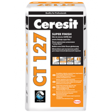 Glet alb pentru finisaje fine la interior Ceresit CT 127 20 kg