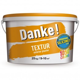 Tencuiala decorativa Danke Textur orange luminos 25kg