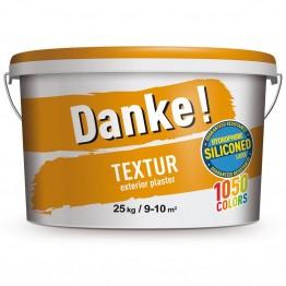 Tencuiala decorativa Danke Textur baza alba 25kg