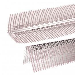 Profil de colt din aluminiu cu plasa 10x10 2.5m