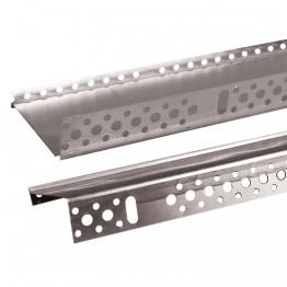Profil de soclu din aluminiu 100mm - 2ML