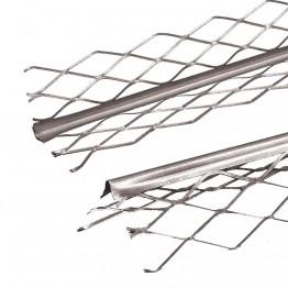 Profil de colt zincat pentru tencuiala mecanizata 3m
