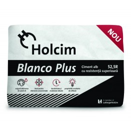 Ciment alb Holcim Blanco Plus 52.5R 20kg