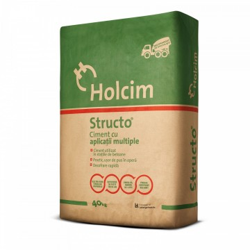 Ciment Structo 32.5R sac 40 kg