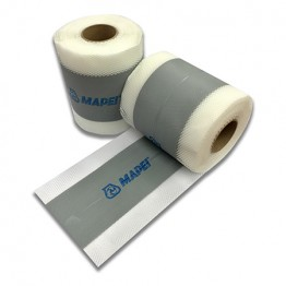 Banda PVC Mapeband PE120 pentru etansare rosturi rola 10m