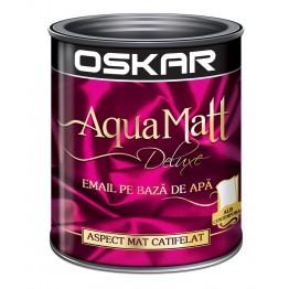 Email Oskar Aqua Matt alb contemporan 0.6L
