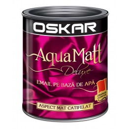 Email Oskar Aqua Matt orange glamour 0.6L