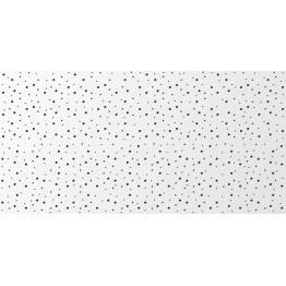 Placa Rigiton 8-15-20 cu perforatii rotunde dispuse aleator si panza neagra