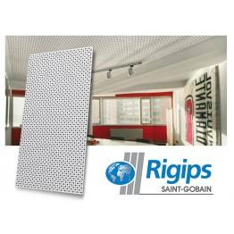 Placa Rigiton 12-20-66 cu perforatii rotunde alternat, panza neagra