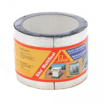Banda bituminoasa pentru etansare/hidroizolatii Sika MultiSeal aluminiu 10 m x 100 mm