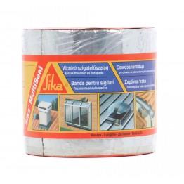 Banda bituminoasa pentru etansare/hidroizolatii Sika MultiSeal aluminiu 3 m x 100 mm