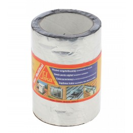 Banda bituminoasa pentru etansare/hidroizolatii Sika MultiSeal aluminiu 3 m x 150 mm