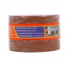 Banda bituminoasa pentru etansare/hidroizolatii Sika MultiSeal maro teracota 10 m x 100 mm