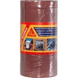 Banda bituminoasa pentru etansare/hidroizolatii Sika MultiSeal maro teracota 10 m x 300 mm