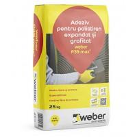 Adeziv pentru lipirea si armarea polistirenului expandat Weber P39 max2