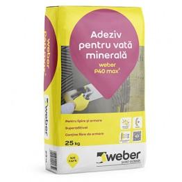 Adeziv pentru vata minerala Weber P40 max2