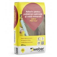 Adeziv flexibil pentru polistiren extrudat si vata minerala Weber P50 max2