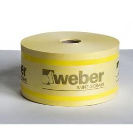 Banda de etansare pentru hidroizolatii webertec 828 DB 75 - rola 50M